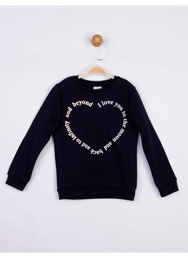 Panolino  Kız Çocuk Sweatshirt 16661 Lacivert
